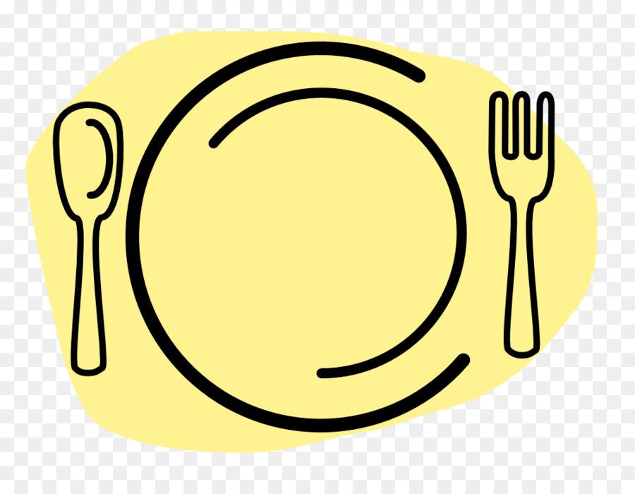 Piring Dinner Fork Spoon Clip Art