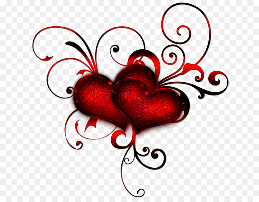 Heart Red Clip art - Red Heart Pics png download - 692*689 - Free Transparent png Download.
