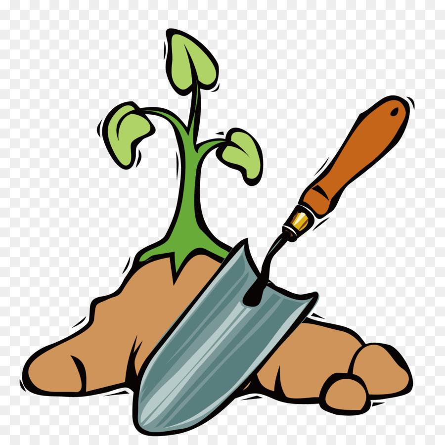 garden tool shovel spade clip art hand painted shovel gardener png rh kisspng com garden clip art free garden clipart black and white