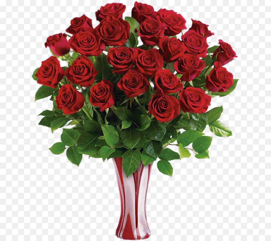 Rose Flower Bouquet Teleflora Floristry Vase Png Download 694