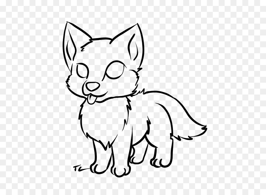Dog Puppy Baby Wolf Baby Wolves Drawing - Picture Of Pup ...