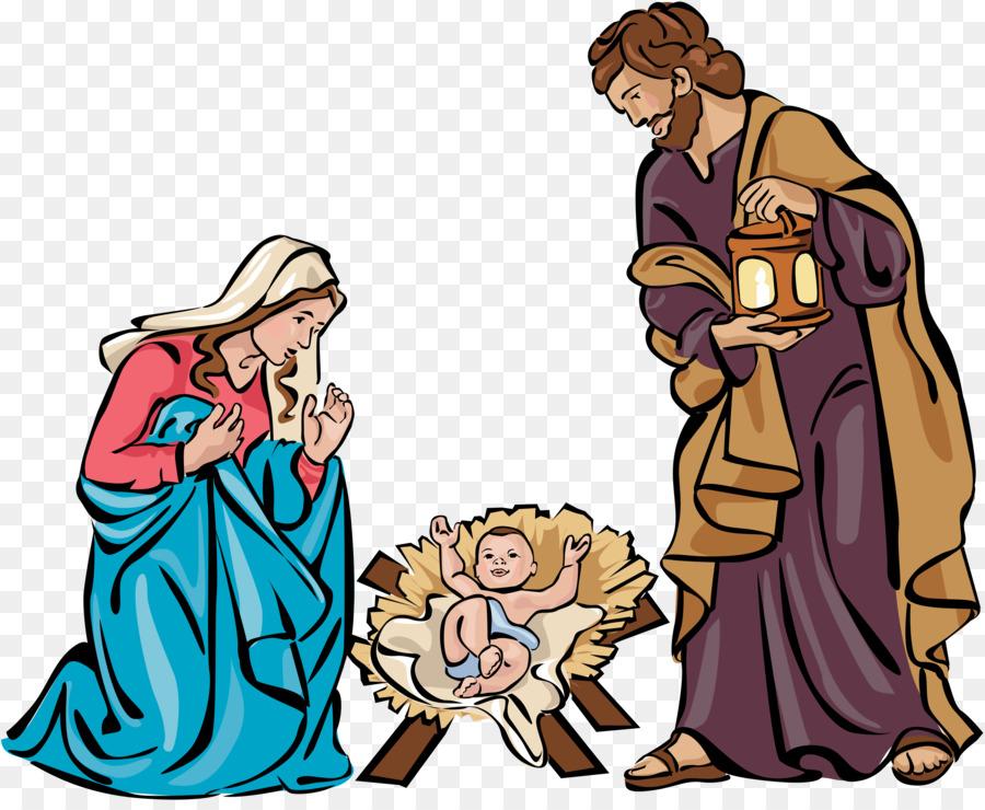 Nativity scene Nativity of Jesus Christmas Free content Clip art ...