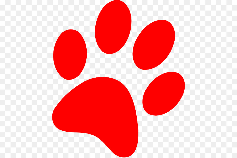 bulldog puppy paw cat clip art red panther cliparts png download rh kisspng com  puppy paw print clip art free