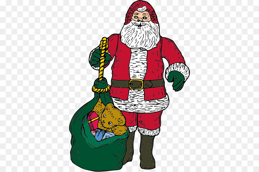 a christmas carol santa claus a visit from st nicholas clip art free animated christmas clipart - Animated Christmas Clipart