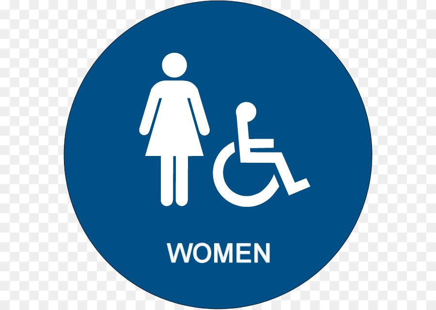 Bathroom Public Toilet Accessible ADA Signs Accessibility
