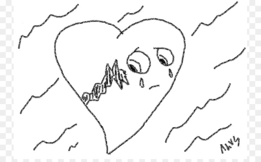 Broken Heart Drawing Pencil Clip Art