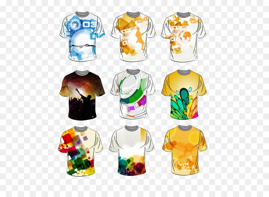T Shirt Polo Shirt Fashion Color T Shirt Png Herunterladen 600