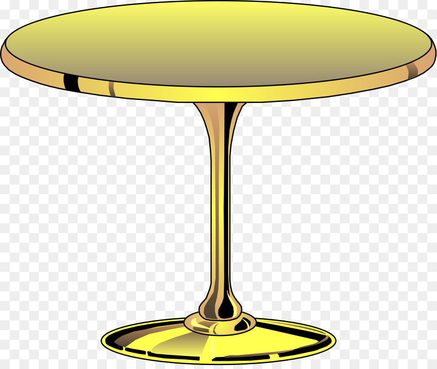 Round Table Matbord Clip Art   Furniture Cliparts