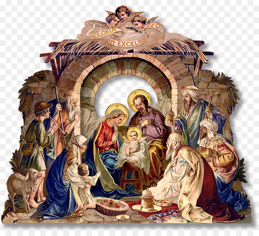 royal christmas message holy family nativity scene nativity of jesus rh kisspng com christmas manger clip art free Christmas Tree Clip Art
