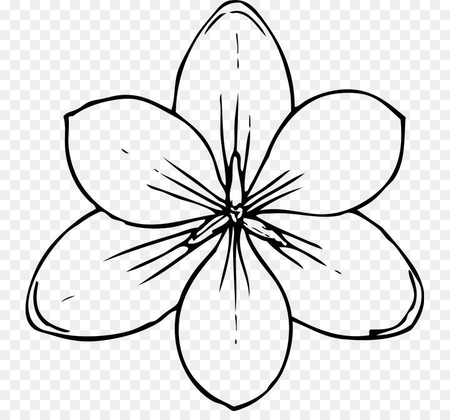 Flores de Libro para Colorear para los Niños de las Flores de Libro ...