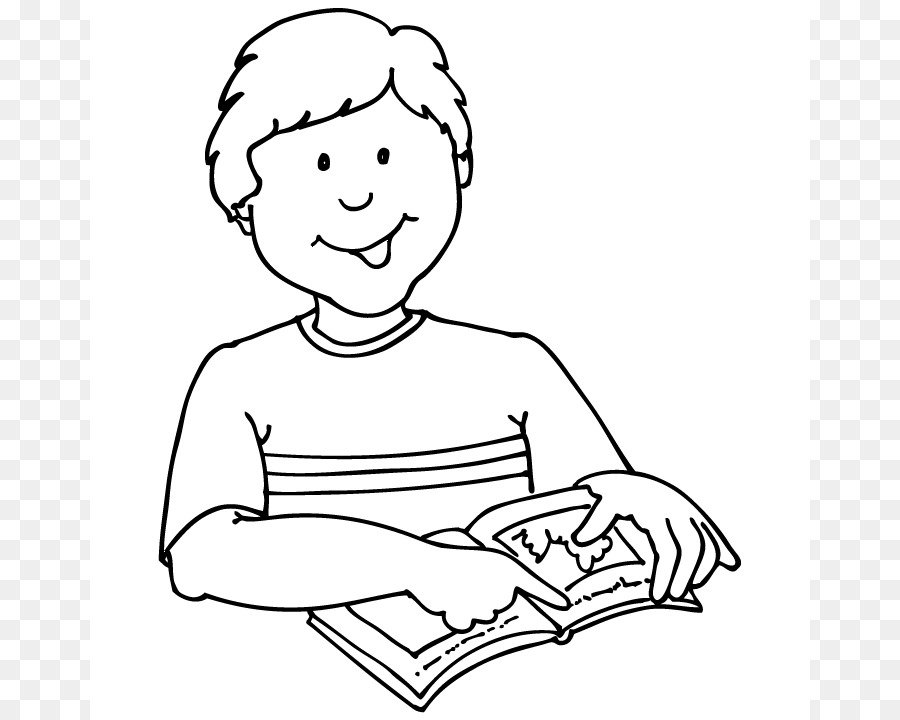 Student Clipart Black And White