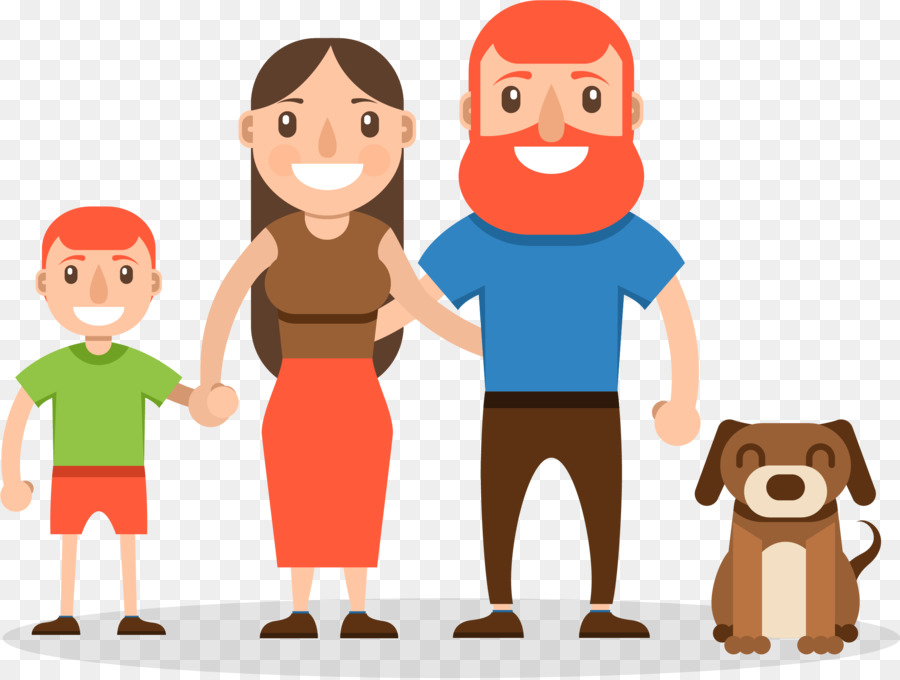 Cartoon Happy Family Png Download