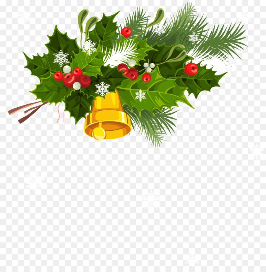 Santa Claus Christmas Card Greeting Clip Art Christmas Bell Images