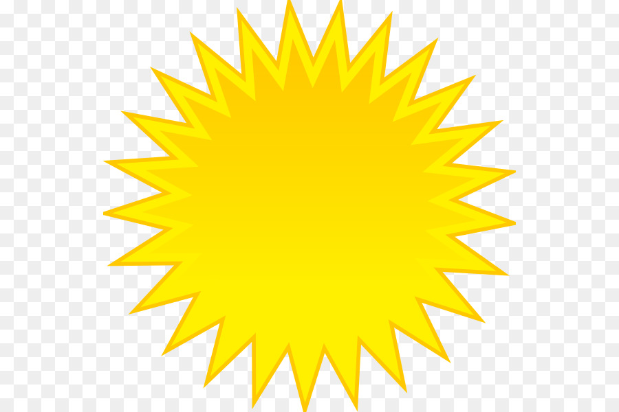 sunlight yellow clip art - animated sun png download