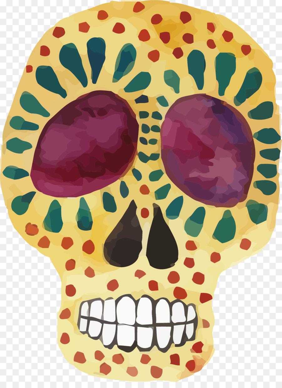 Cráneo De Ilustración - Color esqueleto vector Formatos De Archivo ...