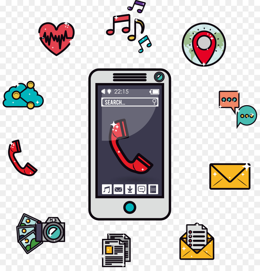 Button Download Wire-frame model - Vector mobile phone software png ...