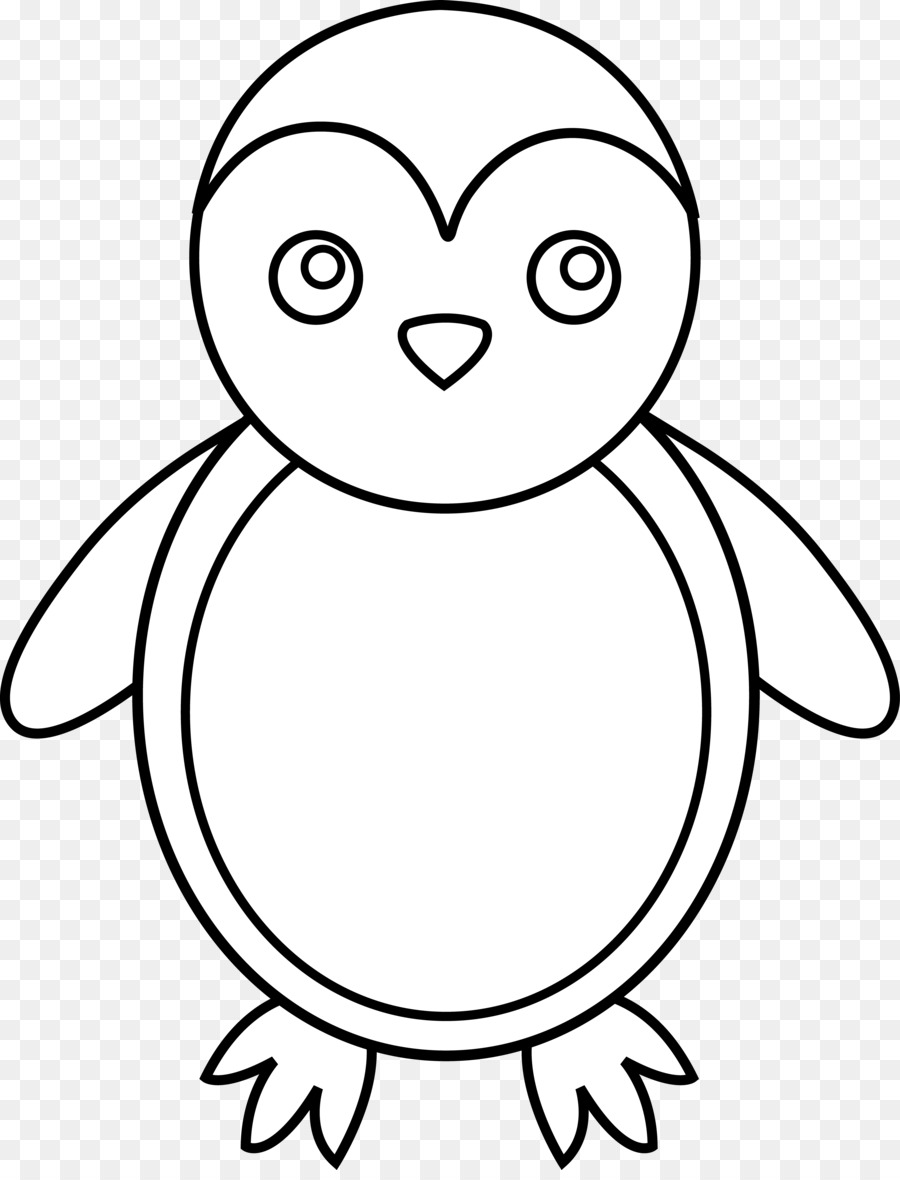 Penguin Antarctica Drawing Clip Art Cartoon Penguin Coloring Pages