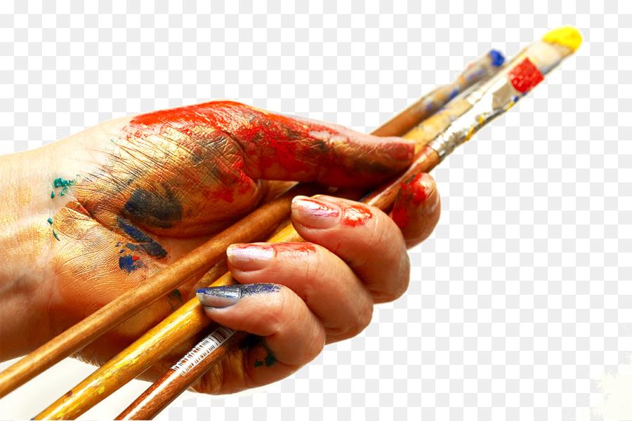 Paintbrush Painting Wallpaper