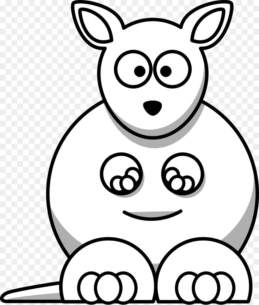 kangaroo black and white free content clip art white cartoon rh kisspng com King Clip Art Black and White Kite Clip Art Black and White