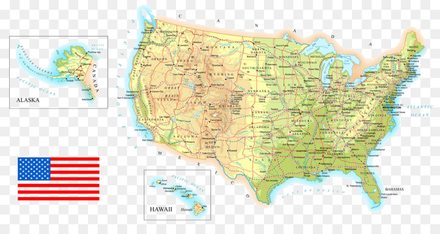 Topographic Map Of Us States.United States Topographic Map Topography Contour Line United