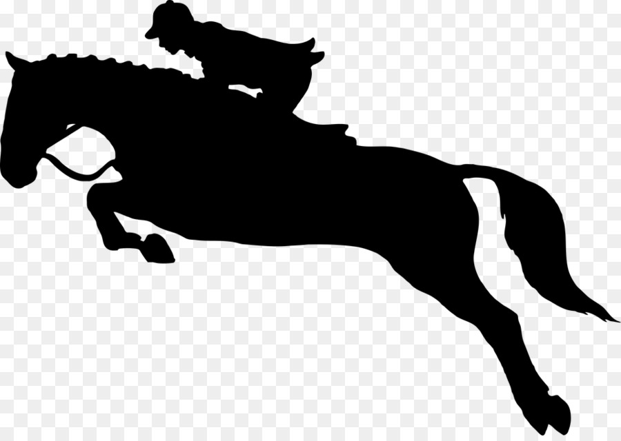 Horse Equestrianism Show Jumping Silhouette Clip Art