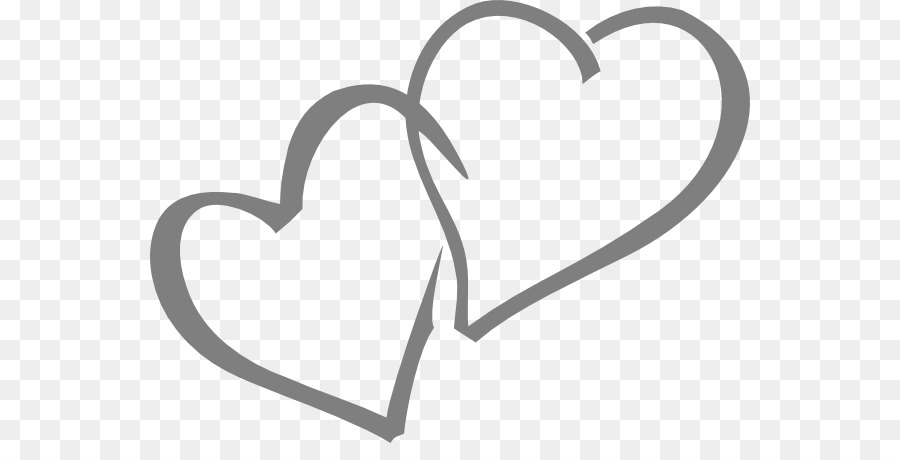 silver heart wedding invitation gold clip art double hearts rh kisspng com free double heart wedding clipart Wedding Double Hearts Graphics