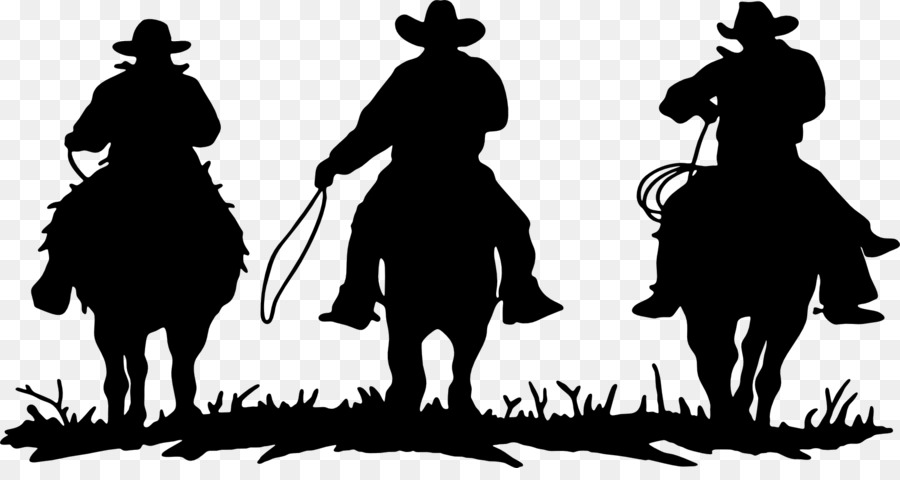american frontier cowboys rodeo silhouette clip art cowboy rh kisspng com cowboy silhouette clip art free cowboy hat silhouette clip art