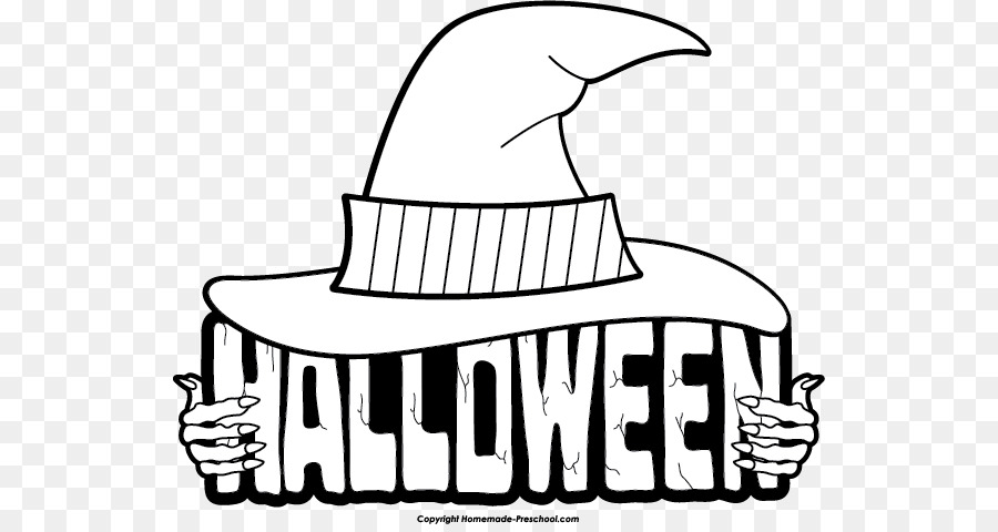 halloween white black clip art happy halloween cliparts png rh kisspng com black and white halloween clip art images vintage black and white halloween clipart