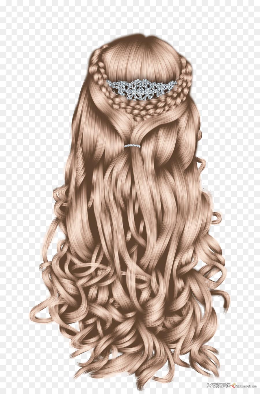 Frisur Zopf Perucke Blond Prinzessin Geflochtene Haare Png