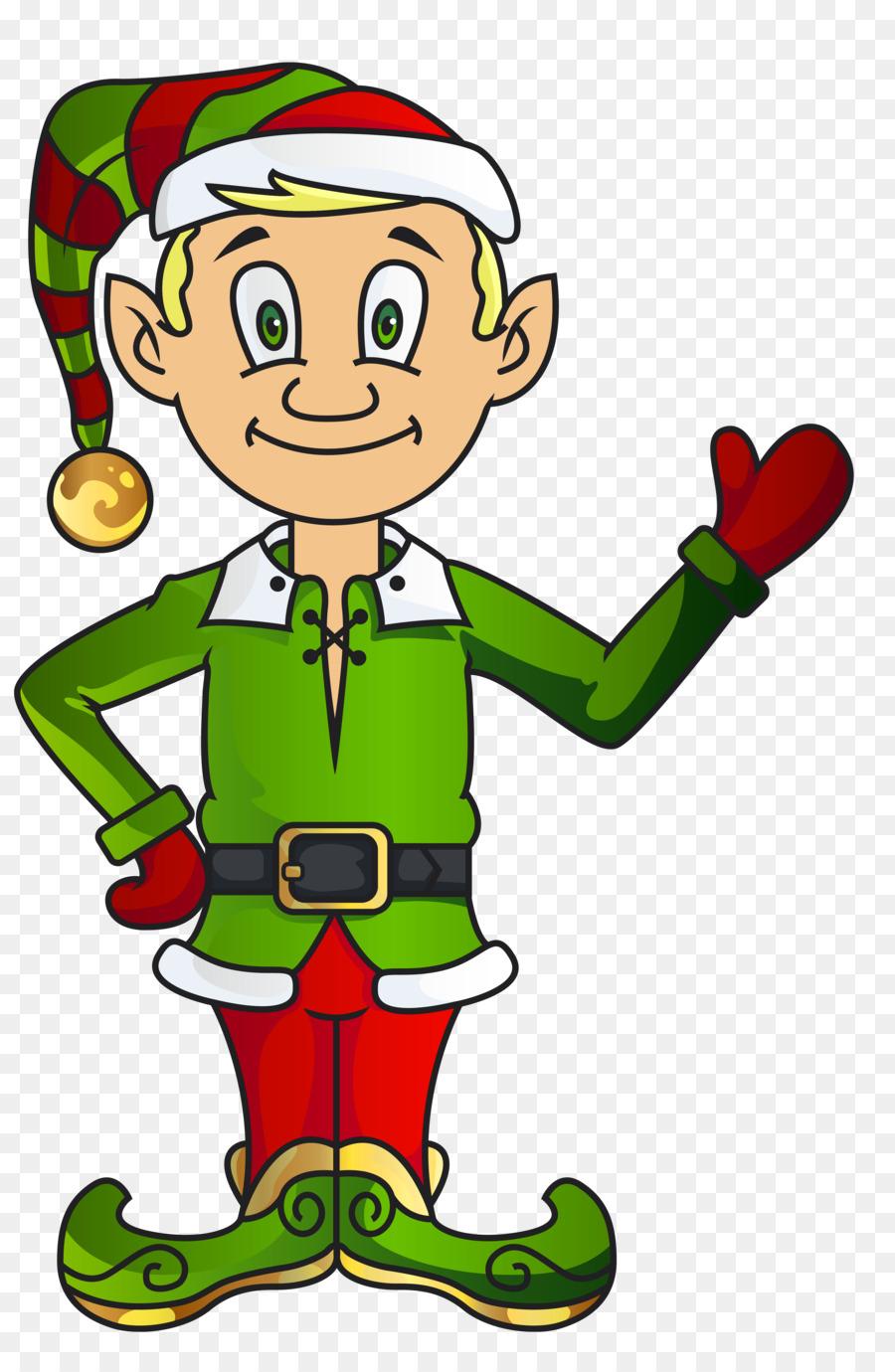 Christmas Elf Santa Claus Clip Art