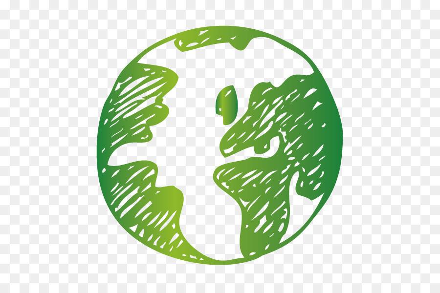 Earth Euclidean Vector Illustration Vector Green Earth