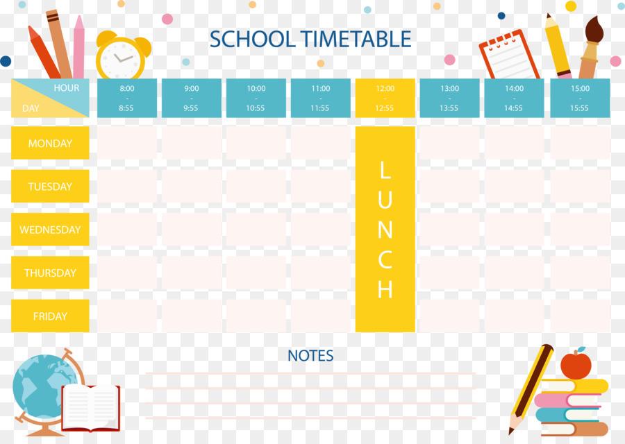 School Timetable Template Curriculum School Curriculum Form