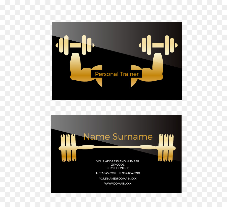 Personal trainer business card euclidean vector fitness business personal trainer business card euclidean vector fitness business card colourmoves