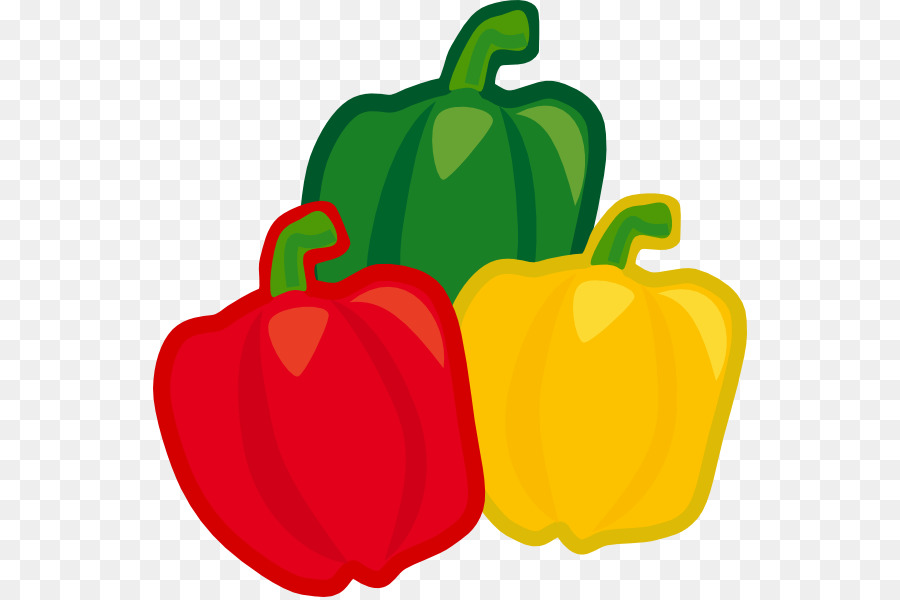 chili pepper bell pepper capsicum vegetable clip art green pepper rh kisspng com pepper clipart png pepper clipart black and white