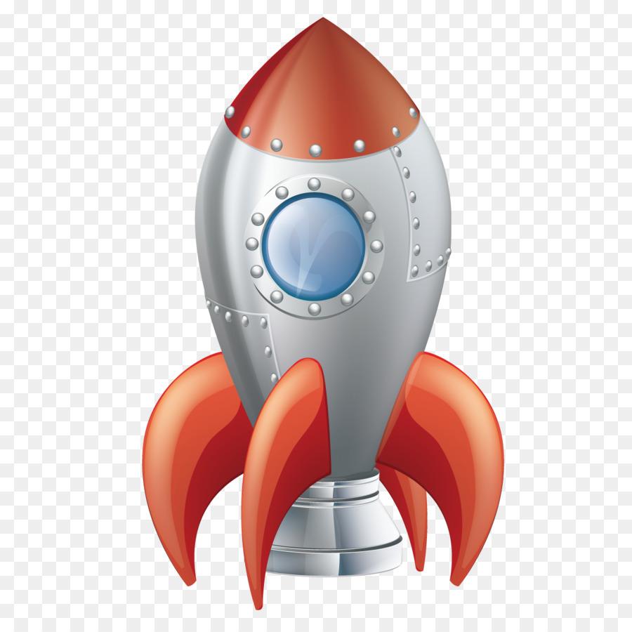 El vuelo del Cohete del espacio Exterior Clip art - Cohete de ...