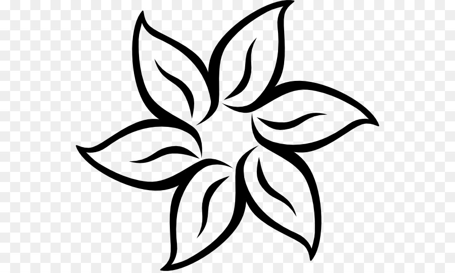 flower black and white clip art flower petal stencil png download rh kisspng com flower petal clipart single flower petal clipart