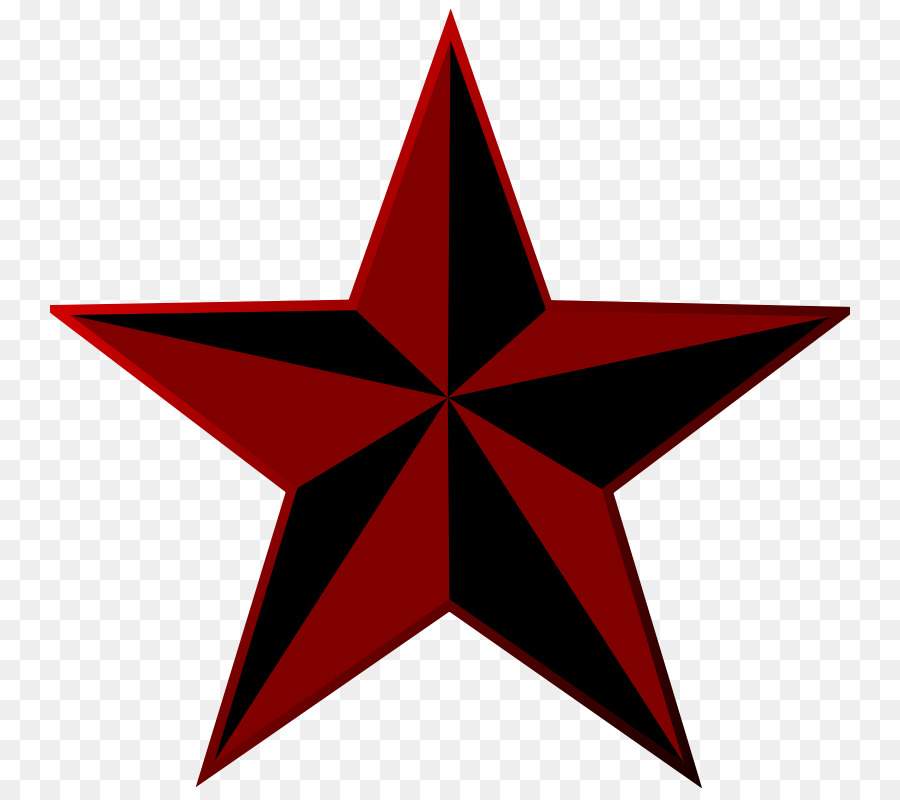 Nautical Star Red Symbol Clip Art Red Star Picture Png Download