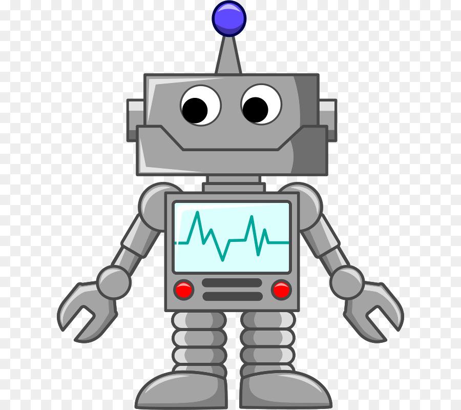 robot cartoon clip art robot png download 678 800 Heart Beat Line Clip Art Heart Beat Line Clip Art