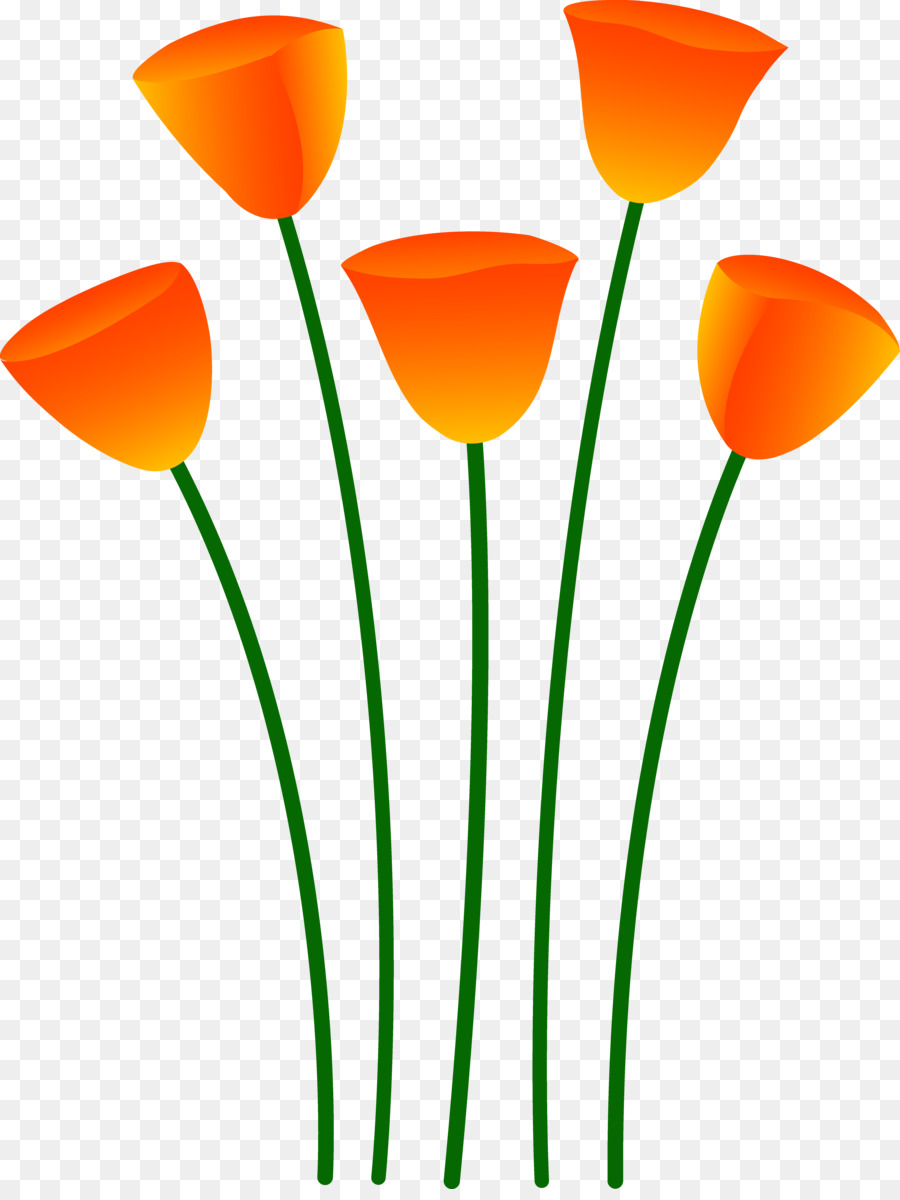 flower poppy orange clip art orange flower clipart png download rh kisspng com Poppy Flower Poppy Cartoon