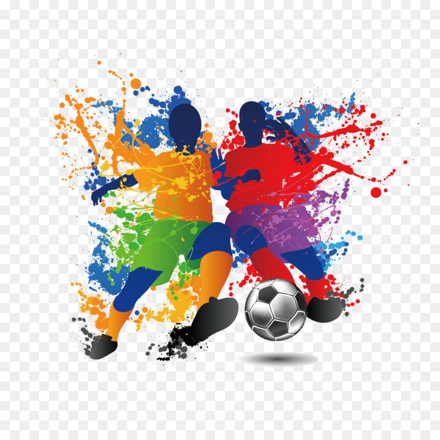 Football Player Futsal Illustration