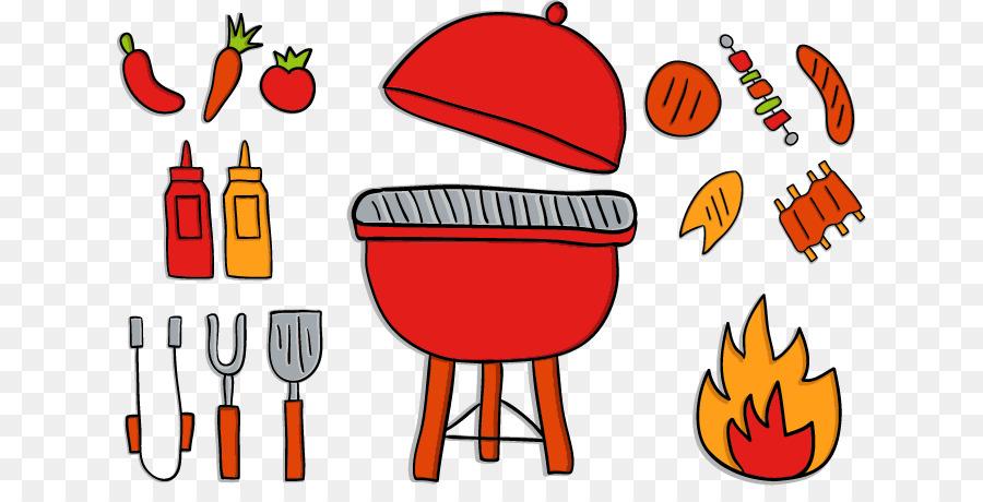 Cartoon Oven   Cute Red Cartoon Kitchen Utensils Oven