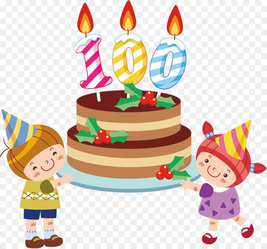 Birthday Cake Happy Birthday To You Gift Cake Pastry Kids Cartoon
