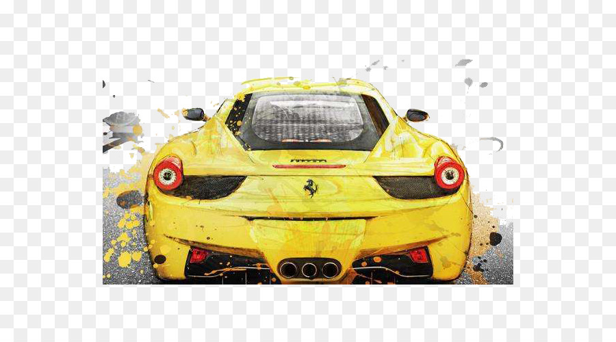 Ferrari F430 Challenge Ferrari 458 Car Artist   Background Design Of Water  Sports Car
