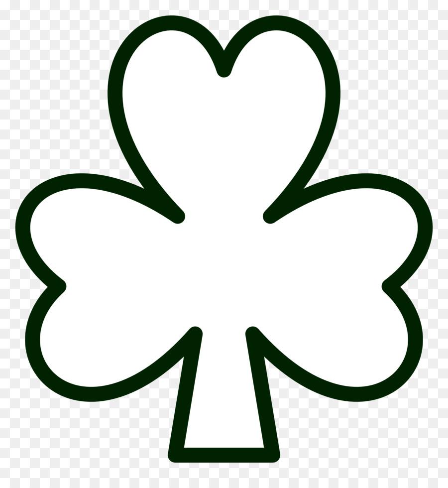 Shamrock Boyama Kitabı Saint Patrick S Day Trinity Küçük Resim