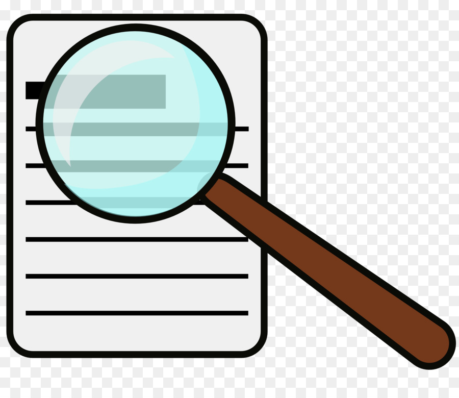 Magnifying glass reading. Drawing png download free