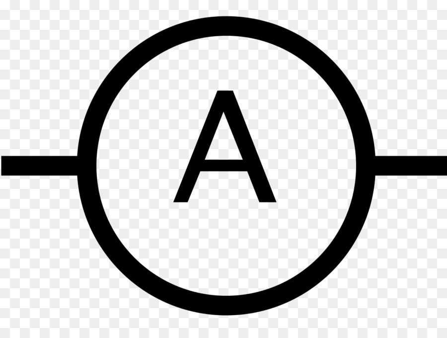 Ammeter Ampere Symbol Voltmeter Clip art - Eye Of Kanaloa png ...