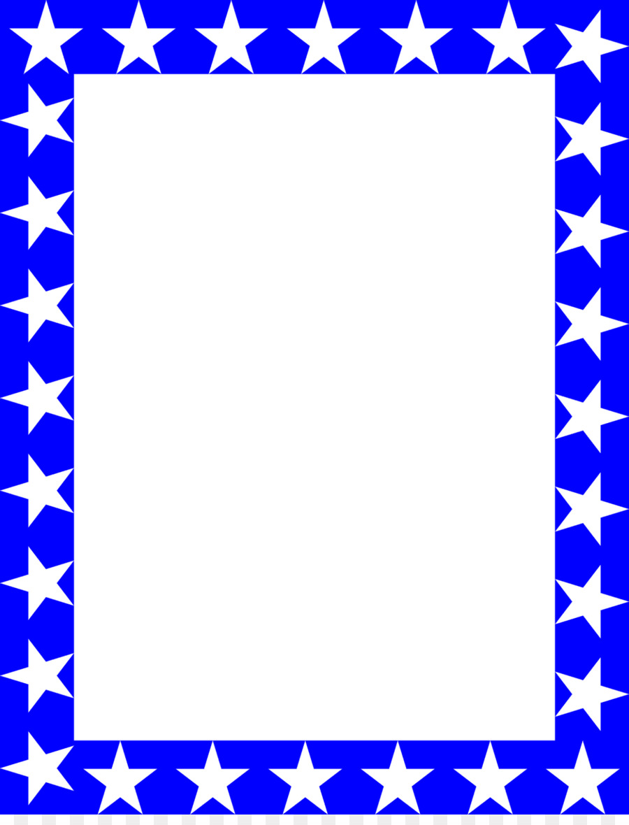 star blue red clip art free blue borders and frames
