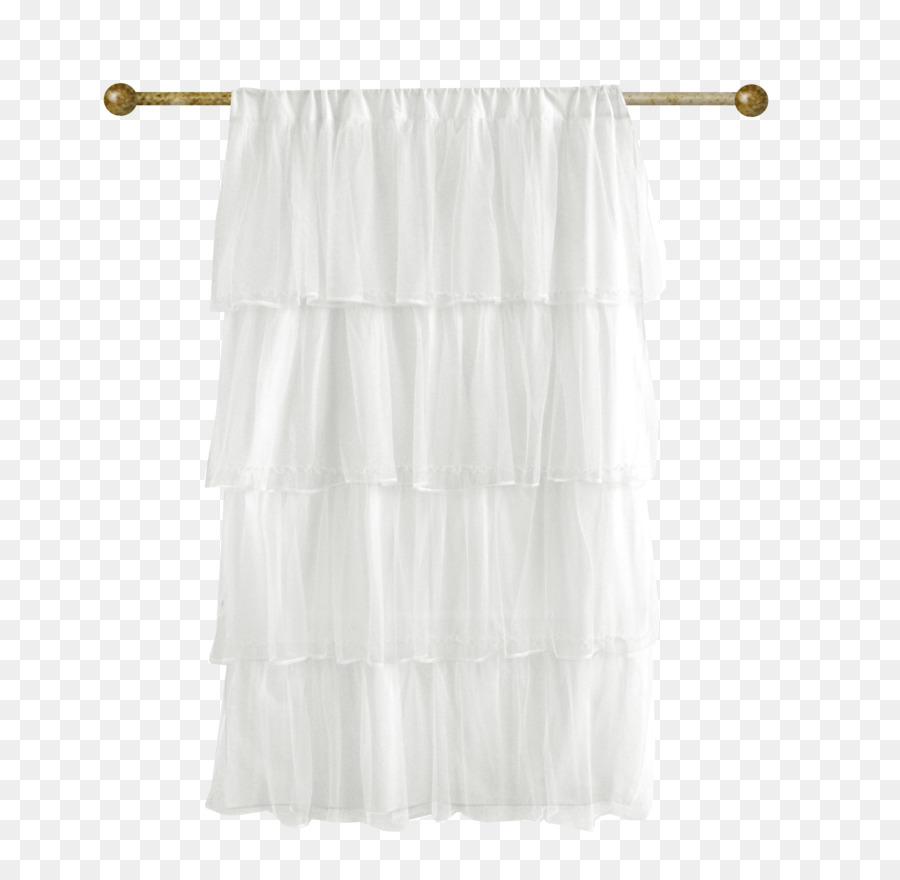 Curtain Textile Polyvore Drapery Drapes 2 White Curtains Png