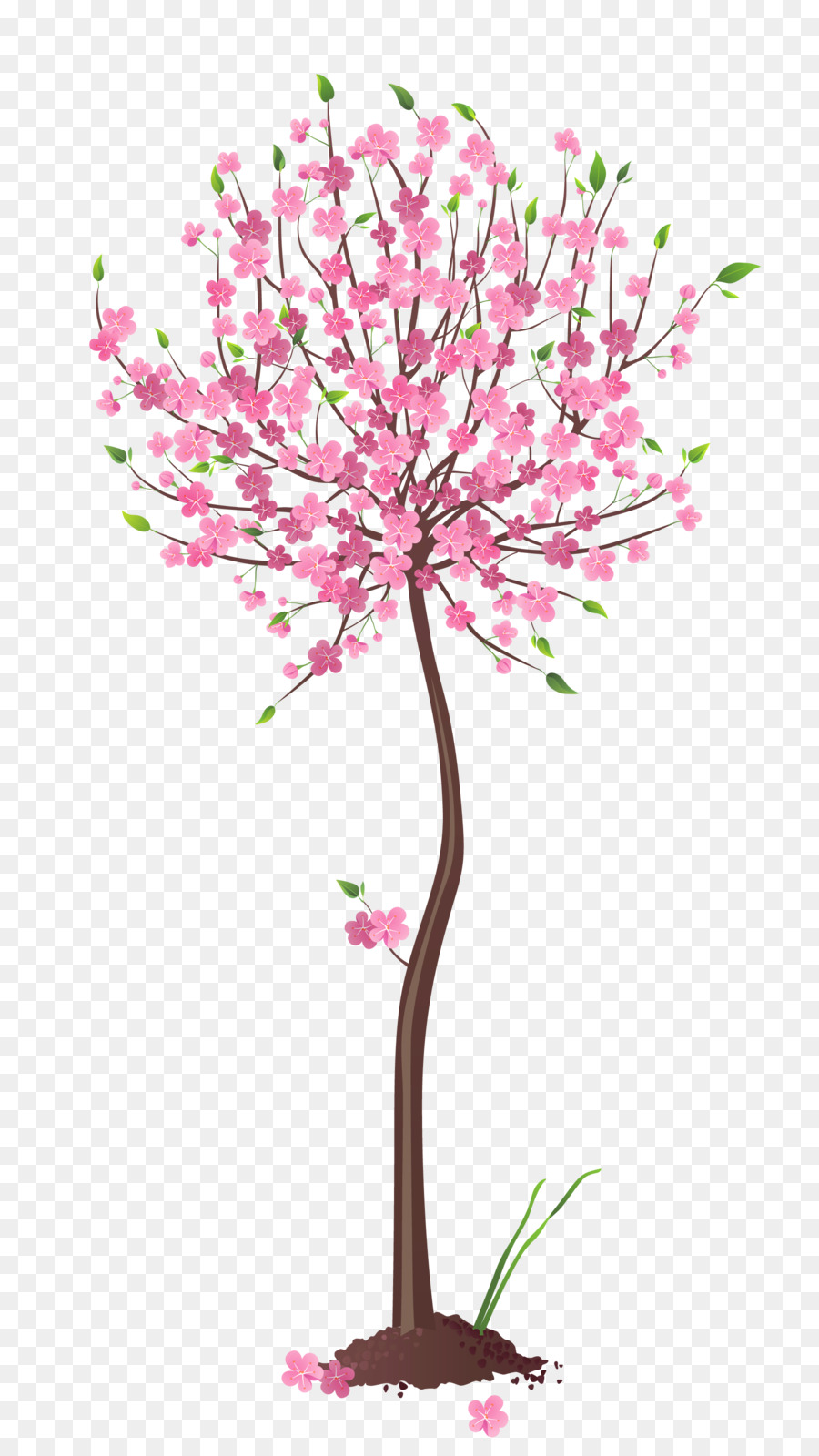 Tree Clip Art Spring Tree Cliparts Png Download 1858 3289 Free