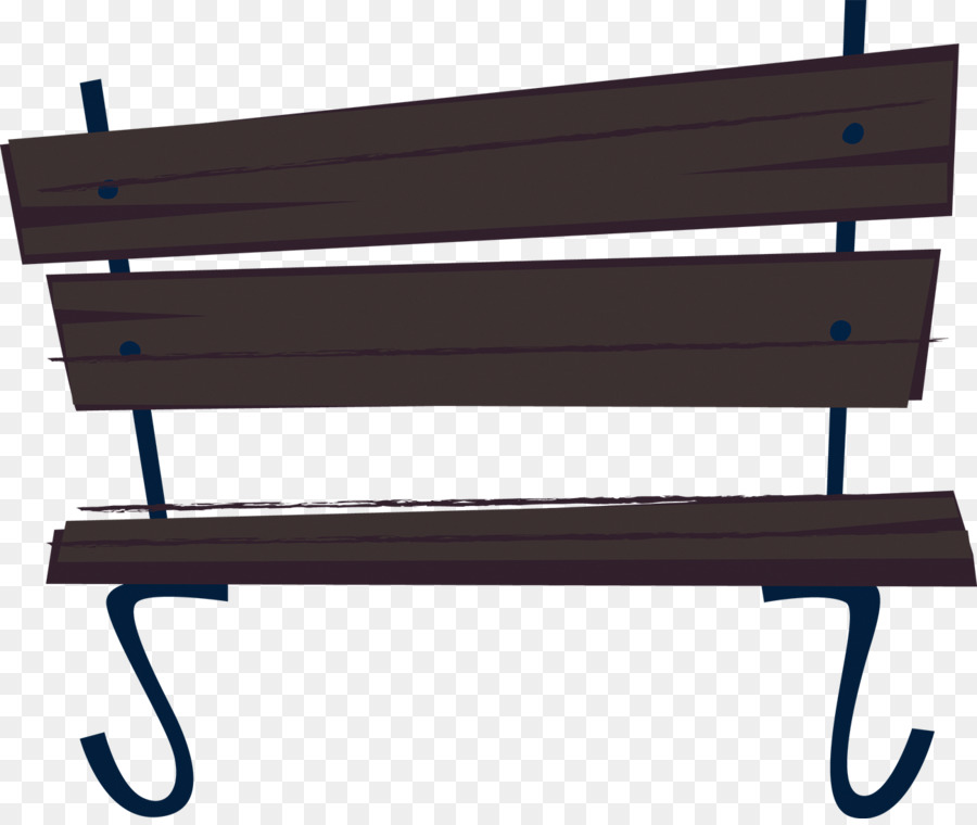 Cartoon Park - Park bench png download - 1300*1089 - Free ...